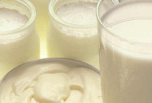 Dairy products are full of the healthy amino acid leucine.